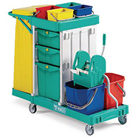 Multi Purpose Cleaning Trolley