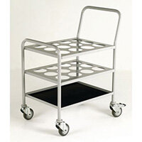 Small Cylinder Trolley 120kg Capacity for Oxygen Cylinders