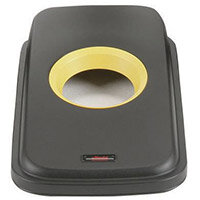 Vileda Lid For Geo Range 55L or 70L Bins Black Yellow