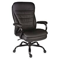 Goliath Black 24 Hr Use Heavy Duty Executive Office Chair - Weight Tolerance: 170kg