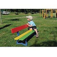 Wood & Steel Childrens Seat Multi-colour