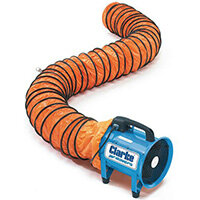 Portable Ventilator/Extractor Ducting Accessory For Use With 200mm Ventilator