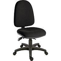 Ergotrio Ergonomic Posture High Back Task Operator Office Chair Black
