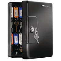 Masterlock Key Box 25 Key Capacity Black Pack 1