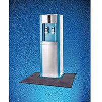 Water Cooler Mat Dark Grey