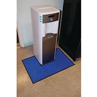 Water Cooler Mat Navy Blue