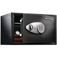 Master Lock Security Safe 33.3L Capacity Black Electronic Lock X125ML