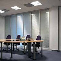 SAS SYSTEM 3000 Single Glazed Glass Office Partitioning System