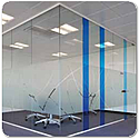 SAS SYSTEM 8000i Single Glazed Frameless Partitioning System