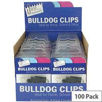 Tallon Bulldog Clips in Counter Display Unit 9194