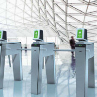 Ticket Operated Access Control Barrier System