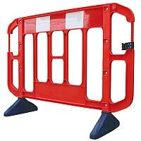 VFM Titan Red 2-Metre Barrier Pack of 2