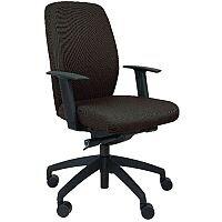 Titan Junior Polypropylene Swivel Chair Blue T30