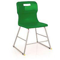 Titan Polypropylene Chair 445mm Green T60