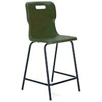 Titan Polypropylene High Chair 560mm Charcoal T61