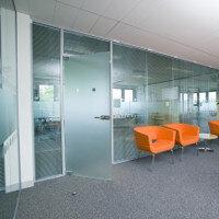 Tenon VITRAGE Frameless Single Glazed Office Partitioning System