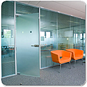 Tenon VITRAGE Frameless Single Glazed Office Partitioning System