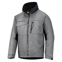 Snickers 1128 Craftsmens Winter Jacket Grey/Black Rip-stop