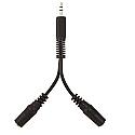 Belkin Audio Splitter For Headphones 10cm