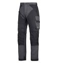 6202 RuffWork, Work Trousers+ Holster Pockets Steel grey\Black - 5804