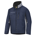 Snickers 1128 Craftsmens Winter Jacket Navy/Grey Rip-stop