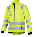 Snickers 8063 High-Vis Micro Fleece Jacket Yellow Class 3