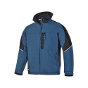 Snickers 1119 Craftsmen Winter Jacket Black/Blue Power Polyamide