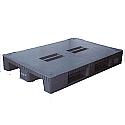 Plastic 1200x800mm Blue Pallet Capacity 1000kg