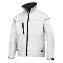 Snickers 1211 Profiling Soft Shell Jacket White