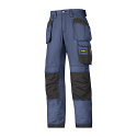 Snickers 3213 Craftsmen Holster Pocket Trousers Rip-Stop Navy/Black
