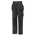 Snickers 3714 Women's Holster Pocket Trousers Canvas+ Black