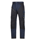 6202 RuffWork, Work Trousers+ Holster Pockets Navy\Black - 9504