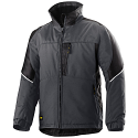 Snickers 1119 Craftsmen Winter Jacket Steel Grey/Black Power Polyamide