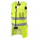 Snickers 4233 High-Vis Toolvest, Class 2 Size XS Yellow