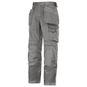 Snickers 3212 Craftsmen Holster Pocket Trousers DuraTwill Grey