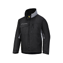 Snickers 1128 Craftsmens Winter Jacket Black/Grey Rip-stop