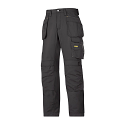 Snickers 3213 Craftsmen Holster Pocket Trousers Rip-Stop Black