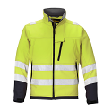 Snickers 1213 High-Vis Soft Shell Jacket Yellow Class 3