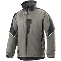 Snickers 1119 Craftsmen Winter Jacket Grey/Black Power Polyamide