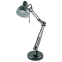 Studio Poise Hobby Desk Lamp Adjustable 35w Black Chrome Ref L855BH