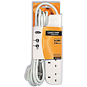 Belkin E-Series 4-Socket Surge Strip 3m Cable