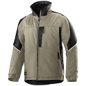 Snickers 1119 Craftsmen Winter Jacket Khaki/Black Power Polyamide