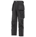 Snickers 3214 Craftsmen Holster Pocket Trousers Canvas+ Black