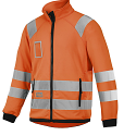 Snickers 8063 High-Vis Micro Fleece Jacket Orange Class 3