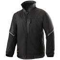 Snickers 1119 Craftsmen Winter Jacket Black Power Polyamide