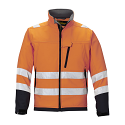 Snickers 1213 High-Vis Soft Shell Jacket Orange Class 3