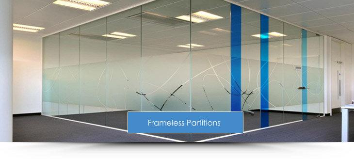 Frameless Glazed Partitions