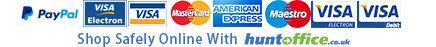 We accpet Visa, MasterCard, Laser & Paypal